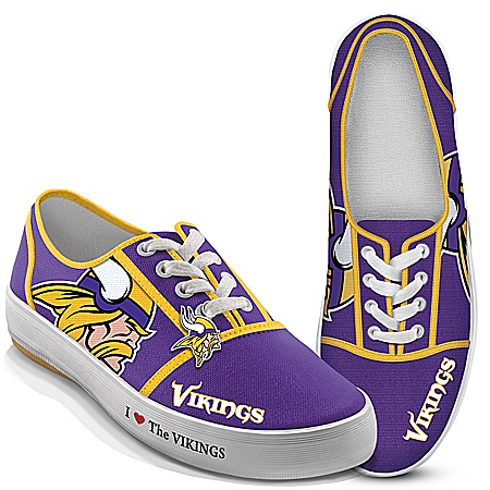 I Love The NFL Minnesota Vikings Women's Shoes