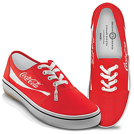 COCA-COLA Women's Canvas Shoes