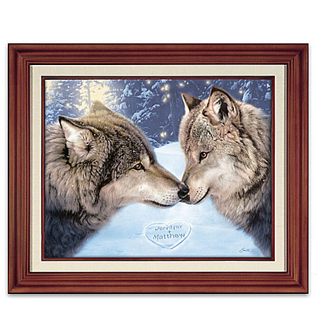 True Companions Personalized Wolf Wall Decor