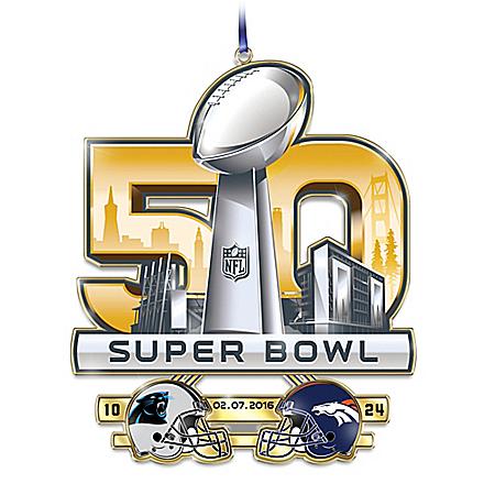 Denver Broncos Super Bowl 50 Champions Commemorative Ornament