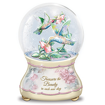Lena Liu Beautiful Treasures Musical Glitter Globe