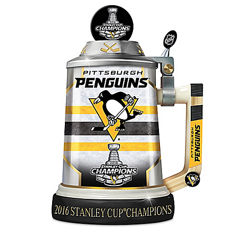 Penguins® 2016 Stanley Cup® Championship Porcelain Stein