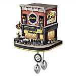 Pittsburgh Steelers NFL Fan Celebration Cuckoo Clock