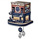 Dallas Cowboys Fan Celebration NFL Cuckoo Clock