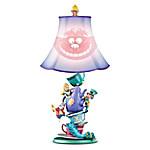 Disney Alice In Wonderland Mad Hatter's Tea Party Table Lamp