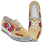 I Love The San Francisco 49ers Women's Canvas Shoes