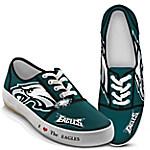 I Love The Philadelphia Eagles NFL Women's Shoes