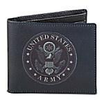 U.S. Army Men's RFID Blocking Leather Wallet