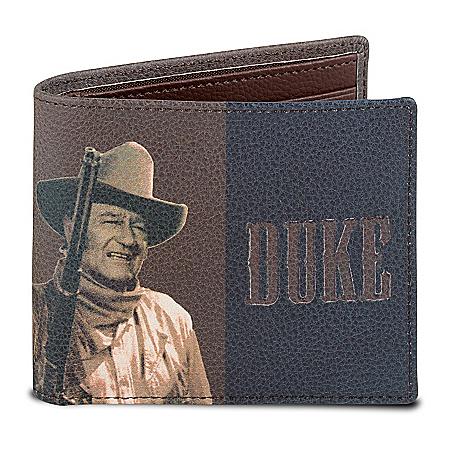 Duke Men's RFID Blocking Leather Wallet