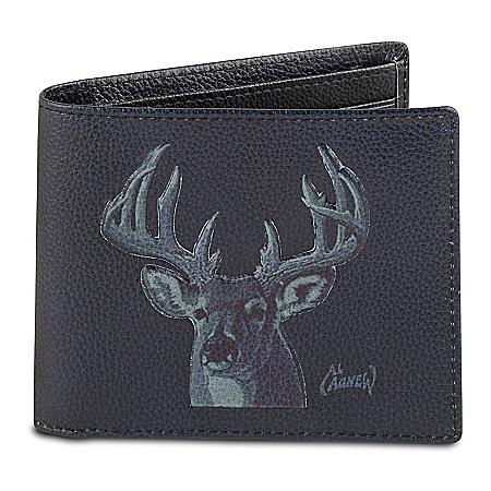 10-Point Buck Men's RFID Blocking Leather Wallet