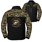U.S. Marine Corps Spirit Men's Softshell Camo Jacket