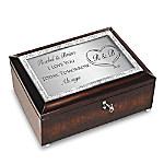 Personalized Bridal Music Box