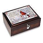 Messenger From Heaven Cardinal Music Box