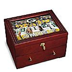 Green Bay Packers Personalized Wooden Keepsake Box
