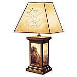 Greg Olsen Light Of The World Jesus Lamp