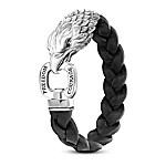 Master Of The Sky Men's Sculpted Eagle Bracelet