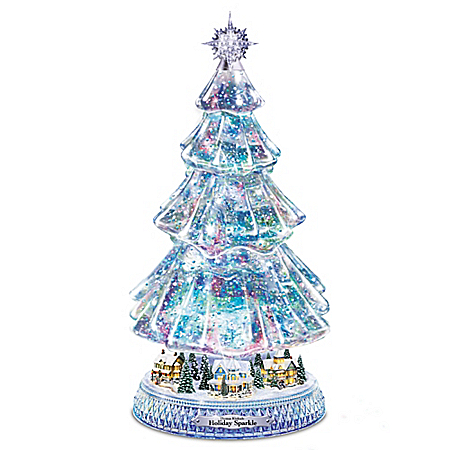 Thomas Kinkade Holiday Sparkle Tree
