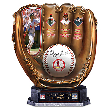 Ozzie Smith, The Wizard: A Legacy Of Greatness St. Louis Cardinals Glove Sculpture