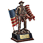 John Wayne - Patriotic American Talking Sculpture