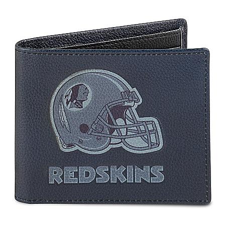 NFL Washington Redskins Men's RFID Blocking Leather Wallet