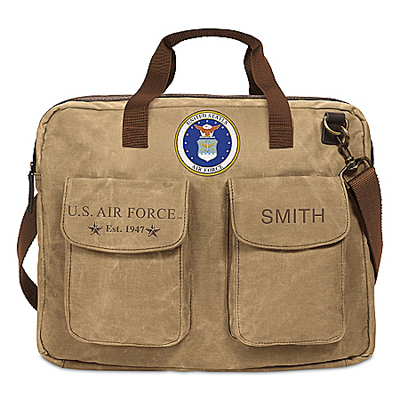 U.S. Air Force Personalized Messenger Tote Bag