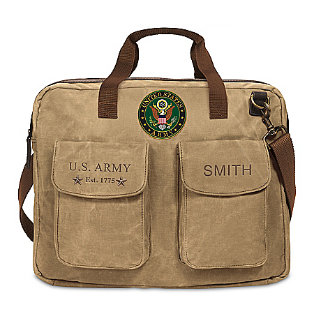 U.S. Army Personalized Messenger Tote Bag