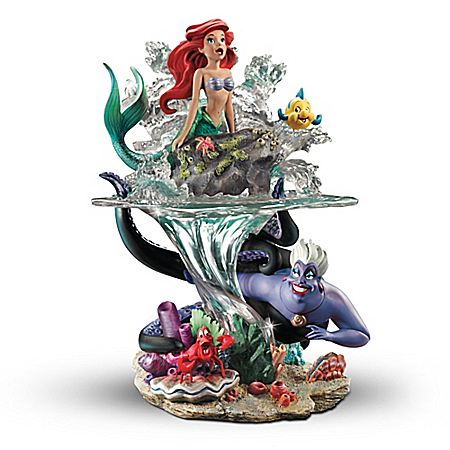 Disney The Little Mermaid Part Of Her World Ariel Sculpture
