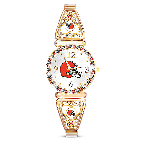 My Cleveland Browns Ultimate Fan Women's Watch