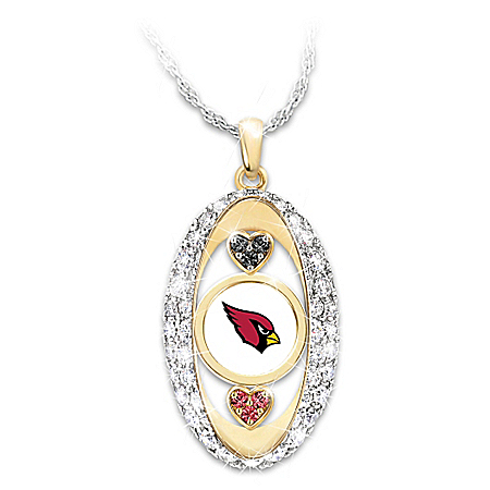 For The Love Of The Game NFL Arizona Cardinals Pride Women's Necklace