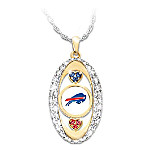 For The Love Of The Game Buffalo Bills Pendant Necklace