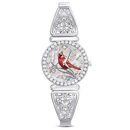 Messenger From Heaven Cardinal Stainless Steel Women's Watch