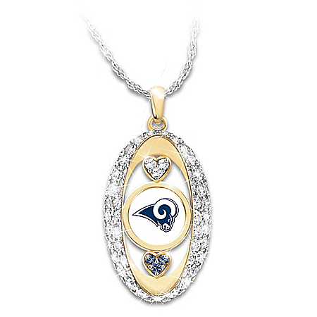 For The Love Of The Game NFL Los Angeles Rams Women's Necklace