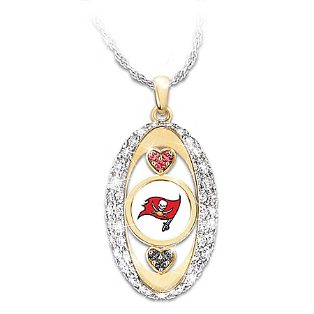 For The Love Of The Game Tampa Bay Buccaneers Pendant Necklace