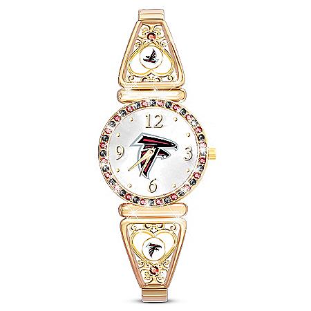 My NFL Atlanta Falcons Ultimate Fan Women's Watch