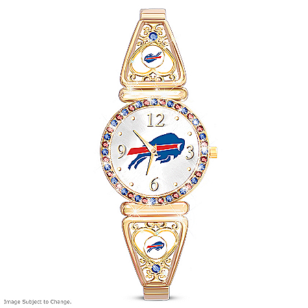My Buffalo Bills Ultimate Fan Women's Watch