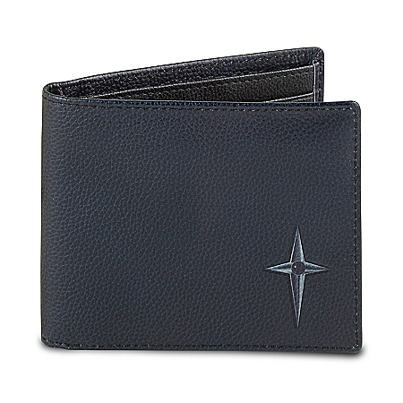 Protection And Strength For My Grandson Men's RFID Blocking Leather Wallet