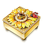 Daughter Mini Treasures Personalized 22K Gold-Plated Music Box