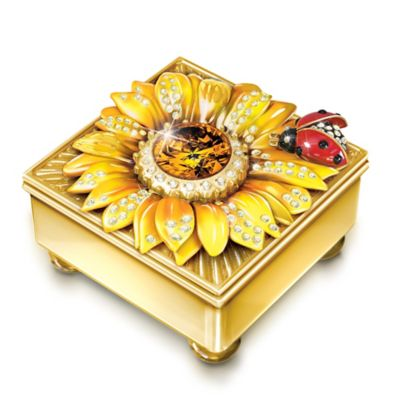 Bradford Exchange Daughter Mini Treasures Personalized 22K Gold-Plated
