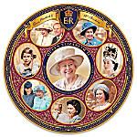 Queen Elizabeth II 90th Birthday Heirloom Porcelain Collector Plate