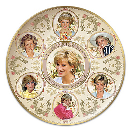 Celebrating Princess Diana Commemorative Collector Plate