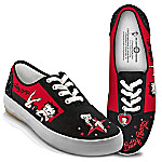 Betty Boop Movie Star Women's Canvas Shoes