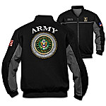 U.S. Army Salute Personalized Men's Bomber Jacket
