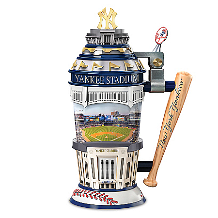New York Yankees MLB Home-Field Advantage Sculpted Stein