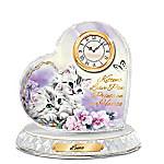 Kitten Sweethearts Personalized Clock By Kayomi Harai