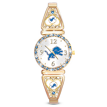 My Detroit Lions Ultimate Fan Women's Watch