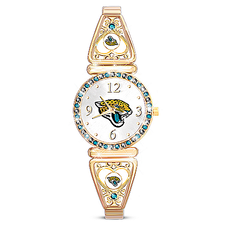 My Jacksonville Jaguars Ultimate Fan Women's Watch