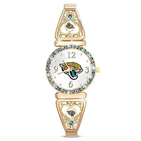 My NFL Jacksonville Jaguars Ultimate Fan Women's Watch