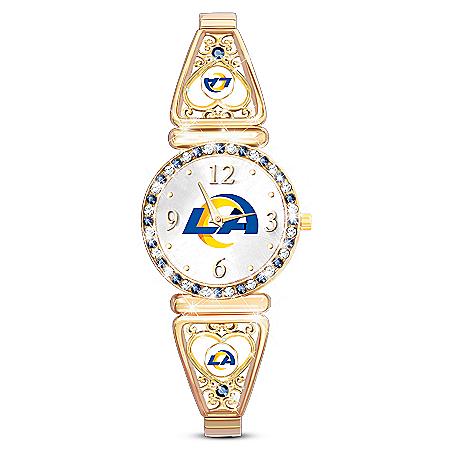 My NFL Los Angeles Rams Ultimate Fan Women's Watch
