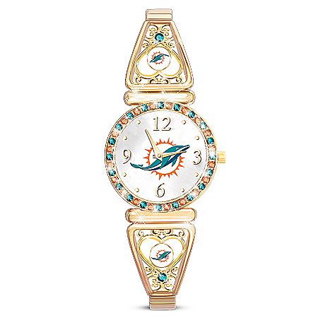 My Miami Dolphins Ultimate Fan Women's Watch