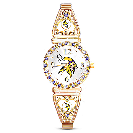 My Minnesota Vikings Ultimate Fan Women's Watch